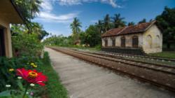 Nádraží Talpe - Talpe railway station
