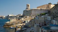 Původní rybářská osada pod zdmi Valletty