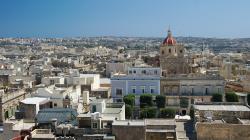 Typický výhled na Maltské město, tohle je Victoria