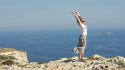 Nad útesem u Dingli - Above Dingli cliff