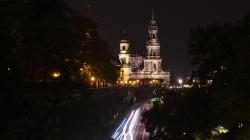 Dresden v noci