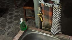 Dřez a koupelna v jednom / Sink and bathroom in one place