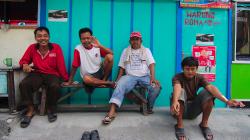 V ulicích Jogjakarty / Jogjagarta streets