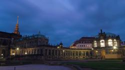 Zwinger v noci