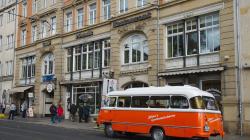 Výlet turistů busem za socíkem